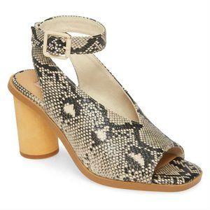 Band of Gypsies Vista Snake block heel sandal